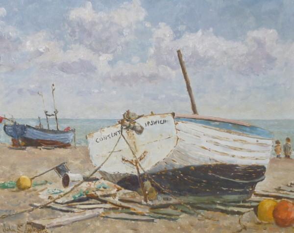 """""""Content"""", Aldeburgh, Suffolk"""