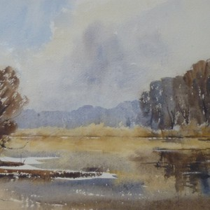 X (SOLD) Autumn Day, Hoveton Broad