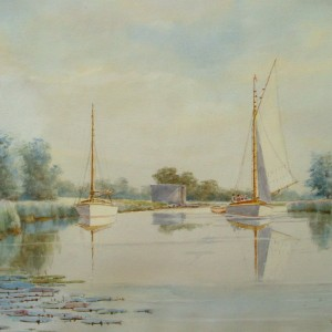 X (SOLD) The Thurne near Repps Staithe
