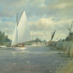 X13 (SOLD) Summer, Thurne