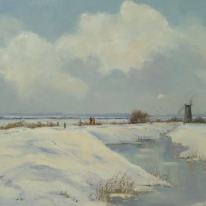 X (SOLD) January Day, Halvergate, Norfolk