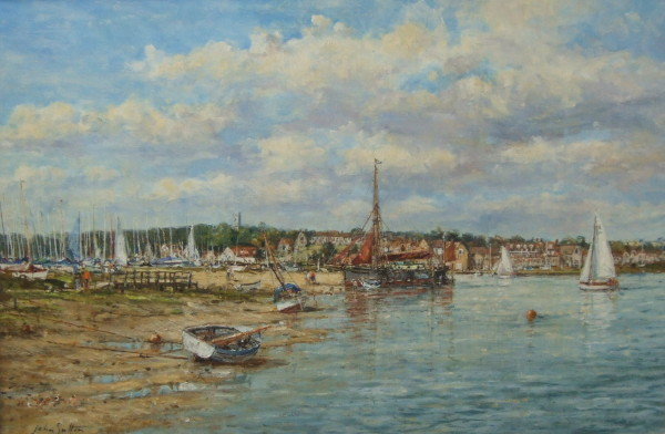 X (SOLD) Blakeney Quay