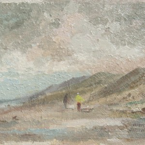 X (SOLD) Morning Walk, Sea Palling