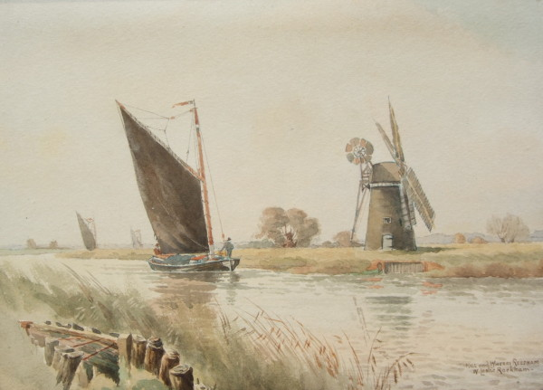 X19 (SOLD) Mill and Wherry, Reedham