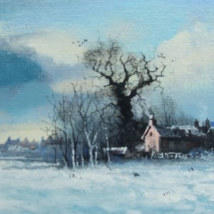 X (SOLD) Wingfield in the Snow