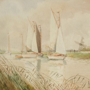 On the Ant near Ludham Bridge September 1929