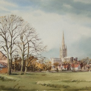 X (SOLD) Norwich Cathedral