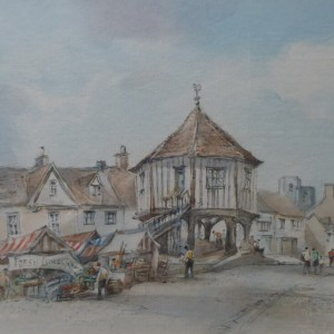 X (SOLD) The Market Cross, Wymondham