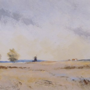 X (SOLD) A Norfolk Marsh at Halvergate