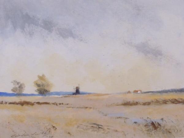 X (SOLD) A Norfolk Marsh at Halvergate