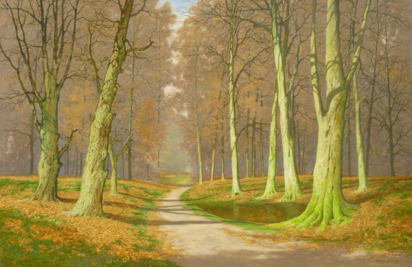 X (SOLD) Autumn Woods (dated 1976)