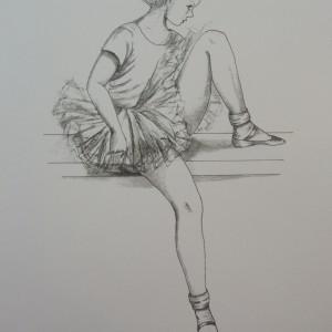 Little Ballerinas: Resting II