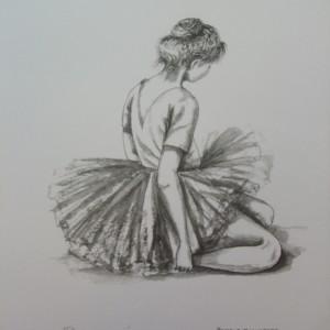 Little Ballerinas: Quiet Moment