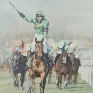 Mon Mome Ridden by Liam Treadwell