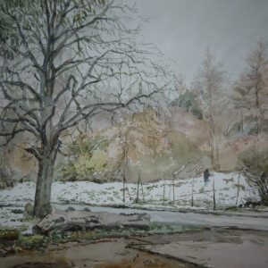 February Snow, Gurney Road