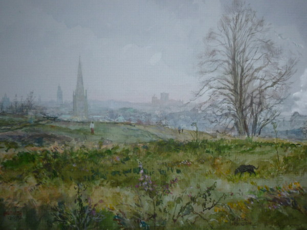 X (SOLD) A Bright Morning in January, Mousehold
