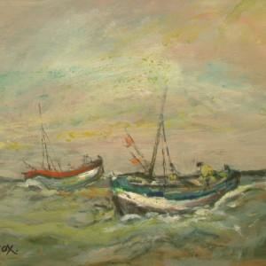X39 (SOLD) Fishing Boats at Sea