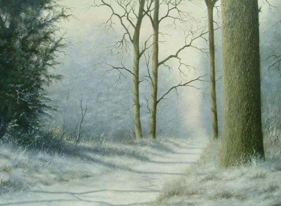 X17 (SOLD) Winter Shadows