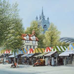 X(SOLD) Norwich Market from Gentleman's WalK