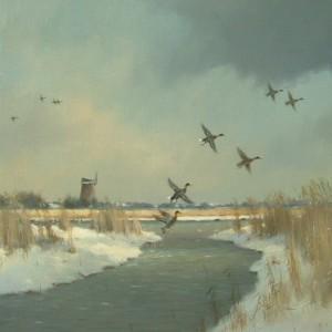 X09 (SOLD) Winter Flight