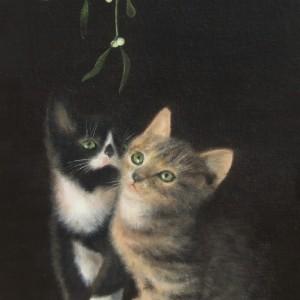 X22 (SOLD) Christmas Kittens