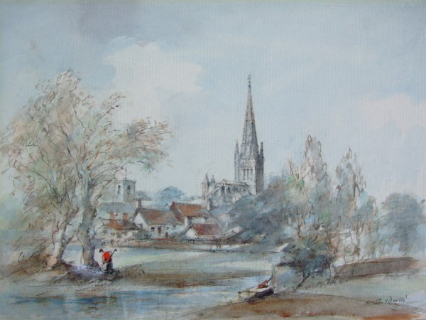 X12 (SOLD) Norwich Cathedral