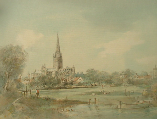 X14 (SOLD) Norwich Cathedral