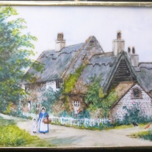 X (SOLD) Miniature – Walcott Cottages