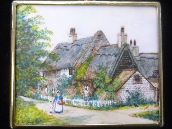 X (SOLD) Miniature – Walcott Cottages