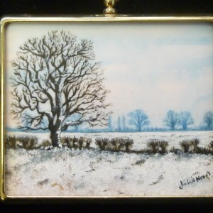 X (SOLD) Miniature – Postwick Snow