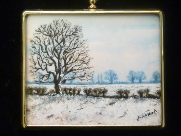 X (SOLD) Miniature – Postwick Snow