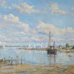 X(SOLD) Morning Tide, Blakeney