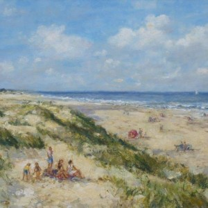x (SOLD) Summer Afternoon, Holkham Beach, Norfolk