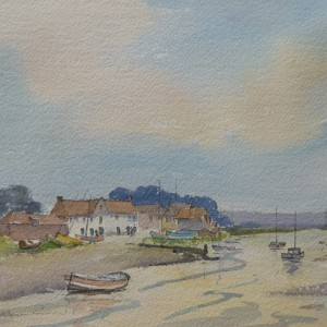 X (SOLD) Summer Evening, Overy Staithe