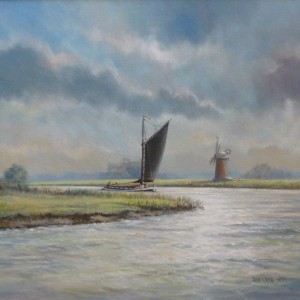 X (SOLD) Wherry in a Fresh Breeze
