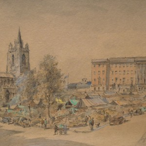 X (SOLD) Norwich Market Place (early work)