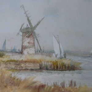 X (SOLD) Autumn Sails, Brograve, Norfolk