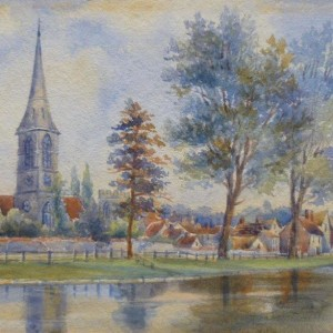 X (SOLD) Thorpe St Andrew from the River