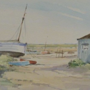 "X (SOLD) ""High and Dry"" North Norfolk Creek"