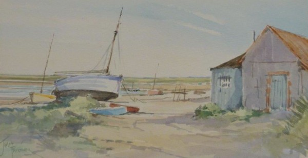 """X (SOLD) """"High and Dry"""" North Norfolk Creek"""