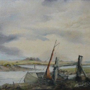 X (SOLD) Low Tide, Wells-Next-The Sea, Norfolk 1967