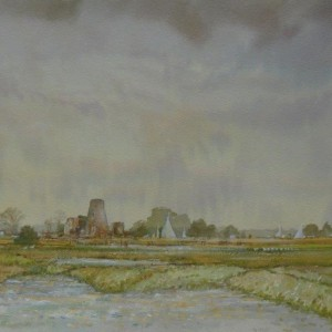 Sun and Showers, St Benets, Norfolk