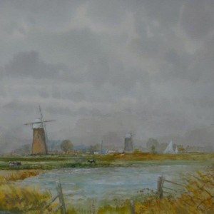 Across the Marshes, Halvergate, Norfolk