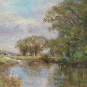 X67 (SOLD) The Waveney near Bungay