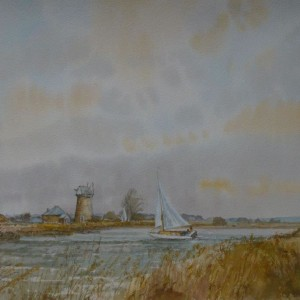 (unframed) Norfolk Breezes, Upton, Norfolk