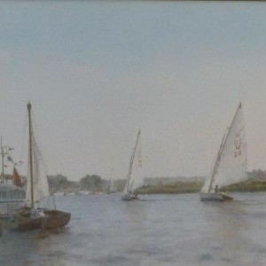X (SOLD) The Last Race Beccles Regatta