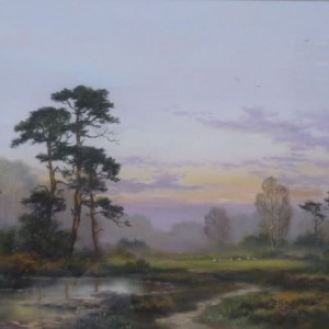 X (SOLD) Breckland Sunset