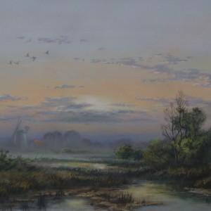 X (SOLD) Morning Mist, Broadland