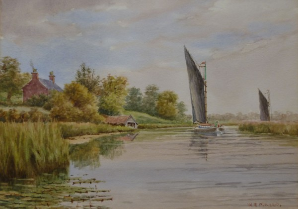 X (SOLD) Near Beccles, Boaters Hill, River Waveney