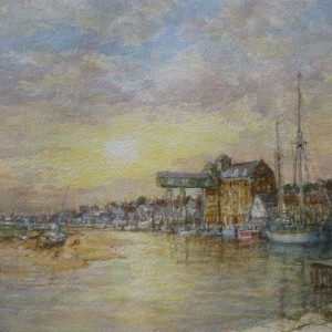 X (SOLD) Early Morning, Wells Quay